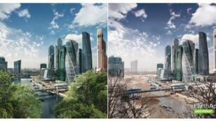 موسكو اليوم /موسكو بعد خمسين عاما