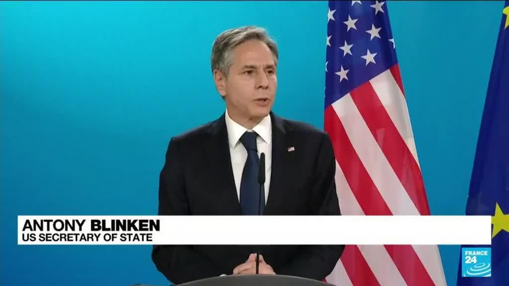 2021-06-23 12:08 Blinken, in Berlin for Libya talks, urges withdrawal of all foreign forces