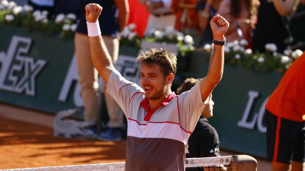 Stan Wawrinka remporte Roland-Garros après sa victoire sur Novak Djokovic.