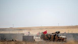 دوريات أمريكية تركية على الحدود مع شمال سوريا، 8 سبتمبر/أيلول 2019
