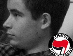 Photo de l'étudiant, Clément Méric, battu à mort par des skinheads