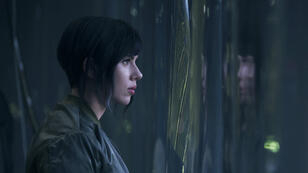"Scarlett Johansson dans ""Ghost in the Shell"" (2017)."