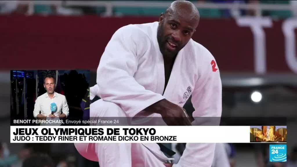 2021-07-30 12:01 Tokyo 2020 : le judoka Teddy Riner sauve une médaille de bronze