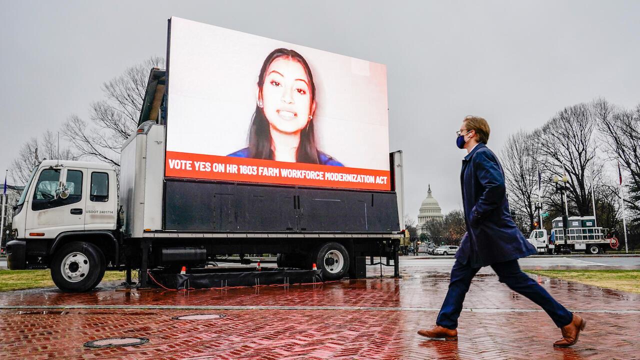Congress Dreamers billboard