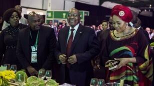 Le président sud-africain Jacob Zuma, le 15 décembre 2017.