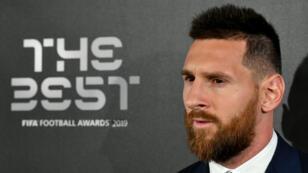 Lionel Messi, joueur Fifa de l'année 2019.