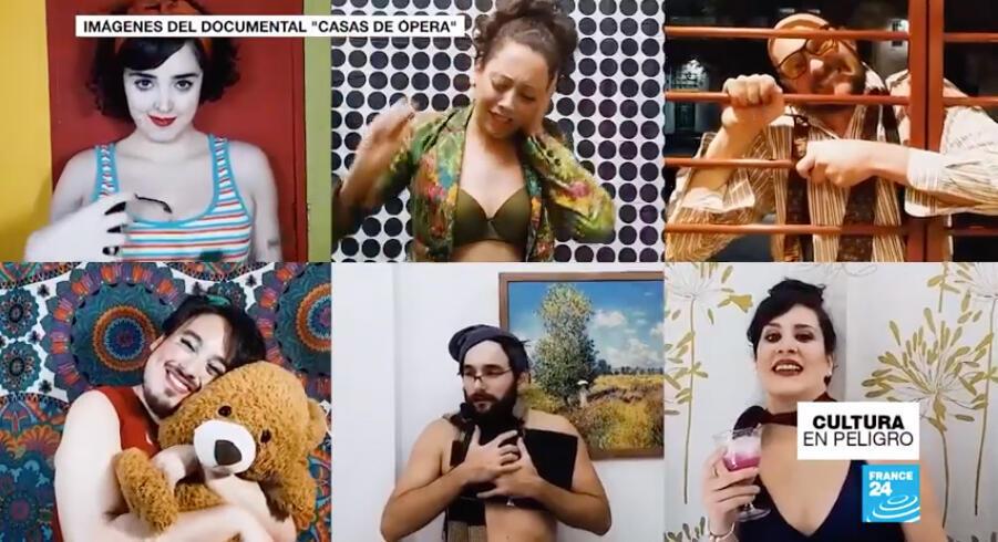 Algunos cuadros del documental 'Casas de Ôpera'.
