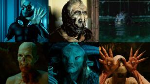 L'acteur Doug Jones dans le costume de toutes les créatures de Guillermo Del Toro, de 1997 à 2018.
