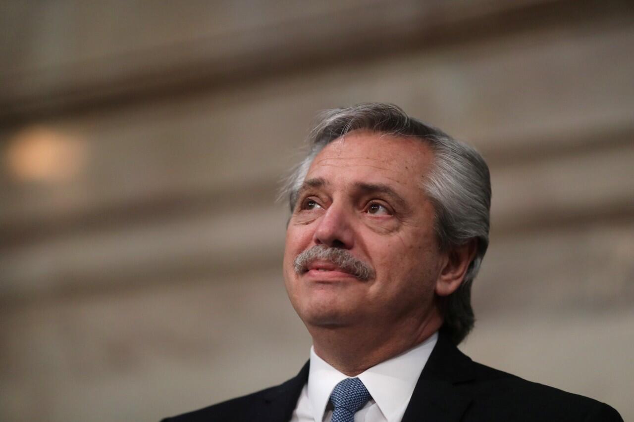 Alberto Fernández, presidente de Argentina. Archivo.