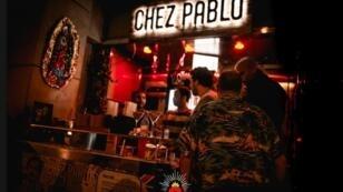 Una de las barras del bar Chez Pablo.