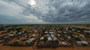 Vue aérienne du camp de réfugiés de Dadaab, qui abrite actuellement 280 000 personnes.