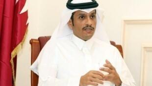 وزير الخارجية القطري محمد بن عبد الرحمن آل ثاني 8 حزيران/يونيو 2017