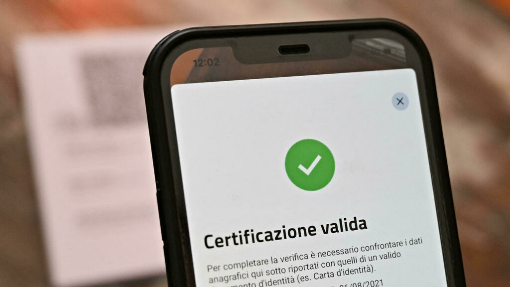 , Italian government makes Covid-19 health pass mandatory for all workers,