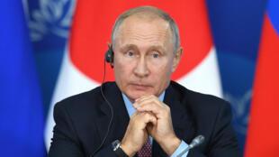 Vladimir Poutine à Vladivostok, en Russie, le 10 septembre 2018.