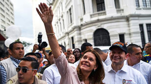 Marta Lucía Ramírez fue la primera mujer en ocupar el Ministerio de Defensa de Colombia y ahora la primera en asumir la Vicepresidencia del país.
