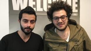 Hassan et Molham ont fui la Syrie pour se réfugier en France.