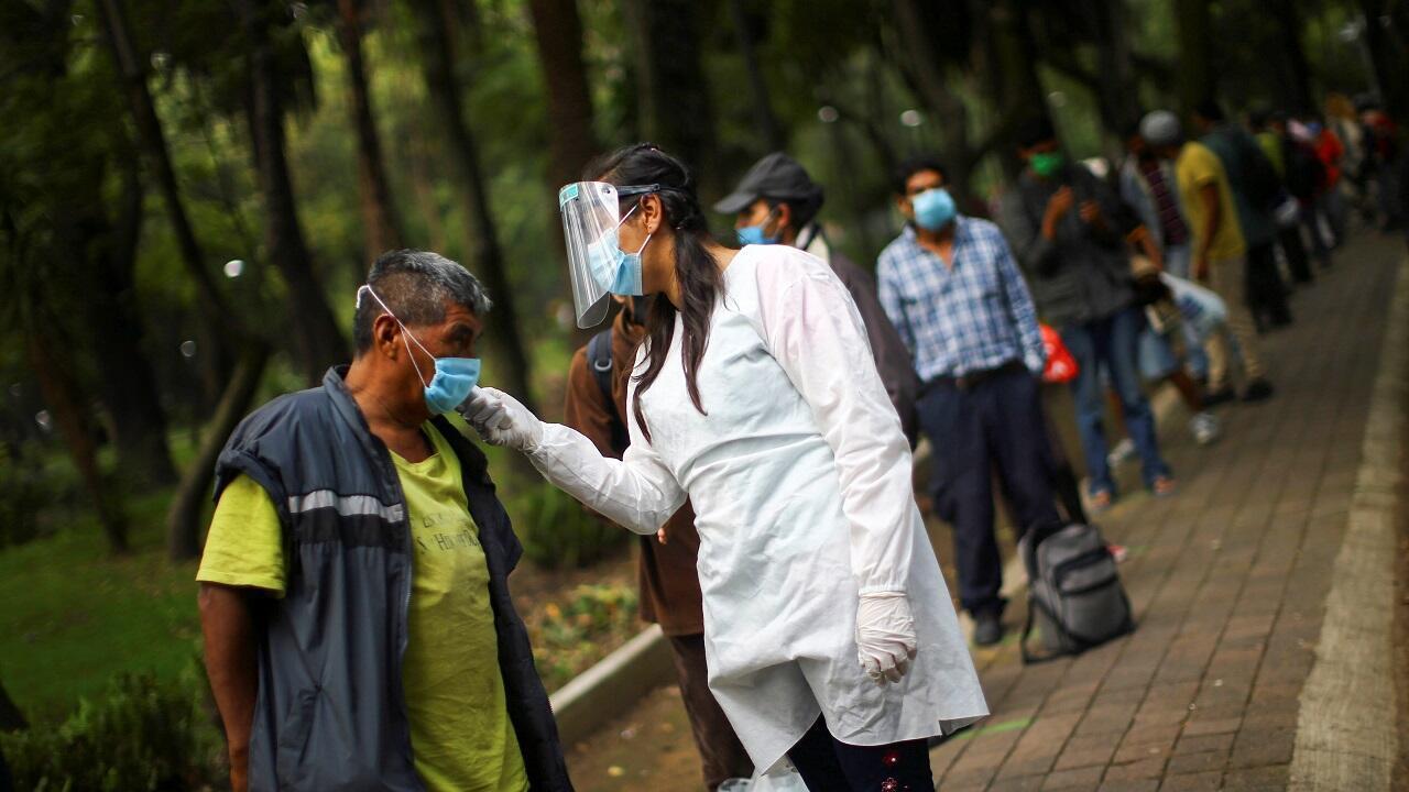 اختبارات الكشف عن فيروس كورونا في المكسيك. مكسيكو في 30 يوليو/تموز 2020.