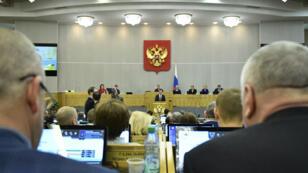 Les députés russes de la Chambre basse ont adopté la loi à une très large majorité, le 15 novembre.