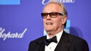 L'acteur américain Peter Fonda participe au 29egala annuel des prix du festival du film de PalmSprings, le 2janvier2018, à PalmSprings en Californie.