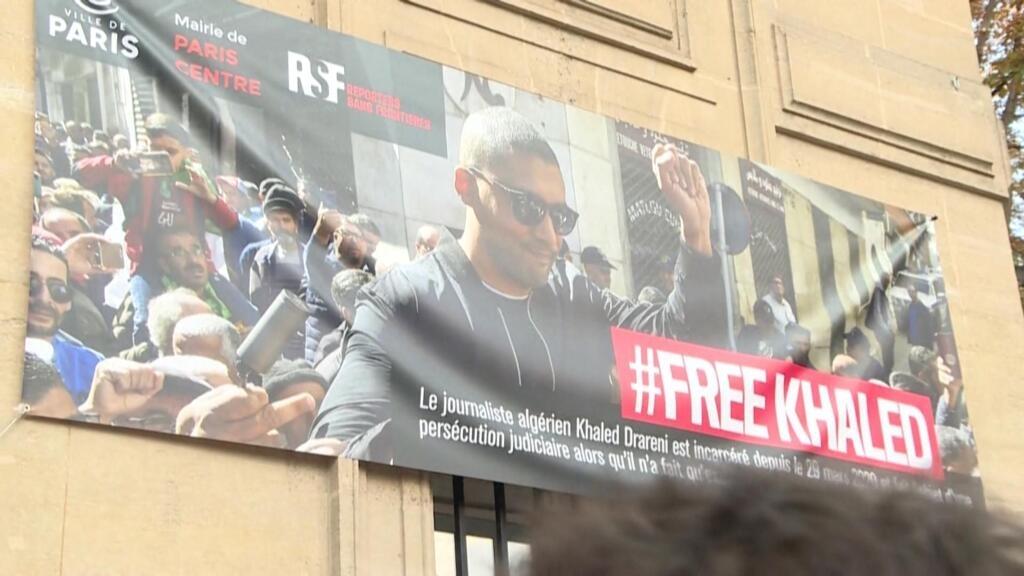 En Algérie, Khaled Drareni condamné à deux ans de prison ferme, avalanche de protestations