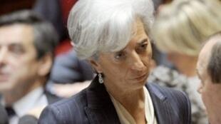 مديرة صندوق النقد الدولي كريستين لاغارد