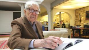 John G. Morris, 97 ans, a photographié la Libération de la France durant l'été 1944.