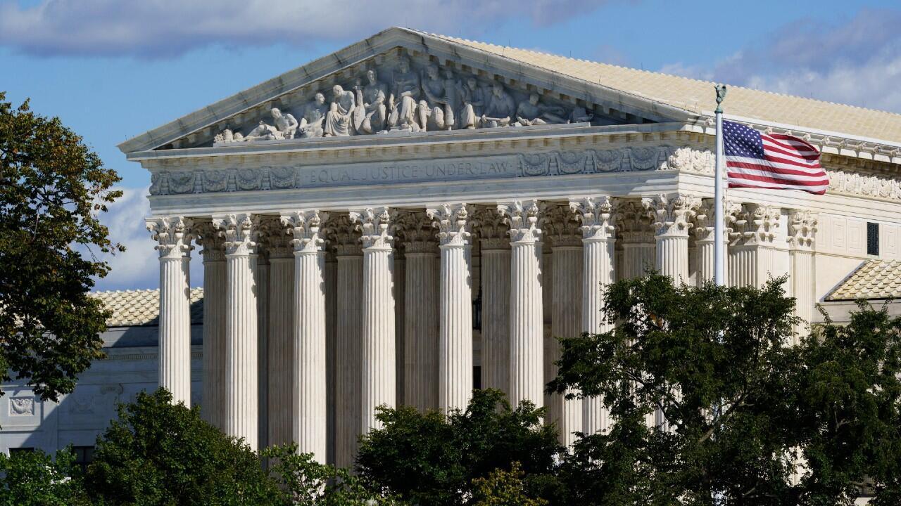 En esta foto del 18 de octubre de 2021 se ve la Corte Suprema en Washington, Estados Unidos.
