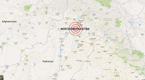 L'épicentre a été localisé à 82 km au sud-est de Feyzabad.