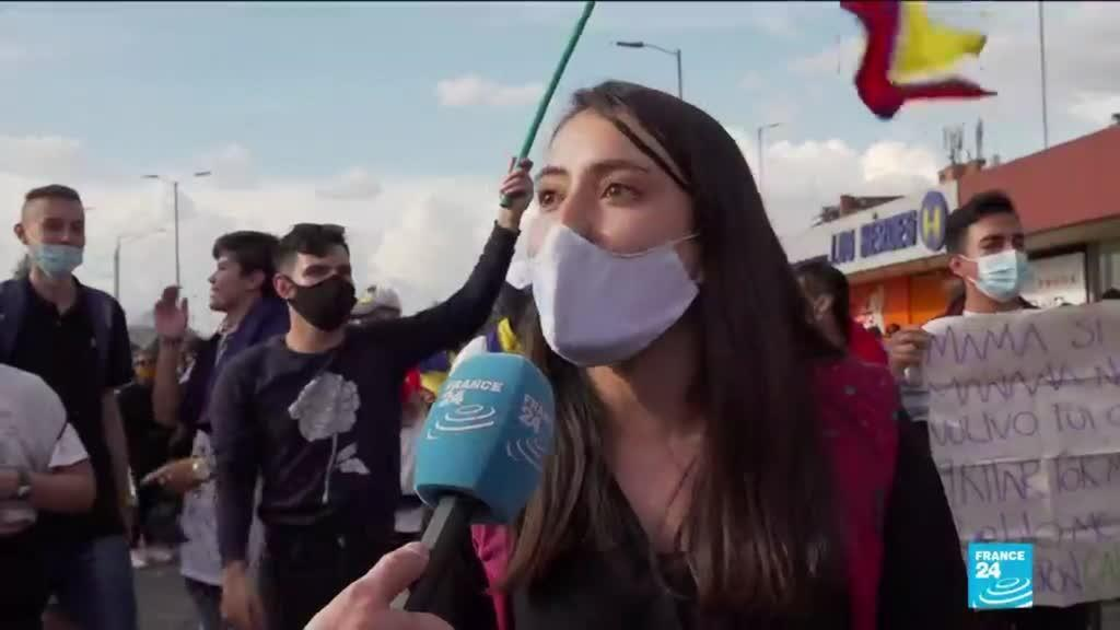 2021-05-07 12:11 Colombia deadly protests: Govt calls for dialogue to defuse tensions