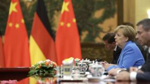 La chancelière allemande Angela Merkel s'est déjà rendue onze fois en Chine.