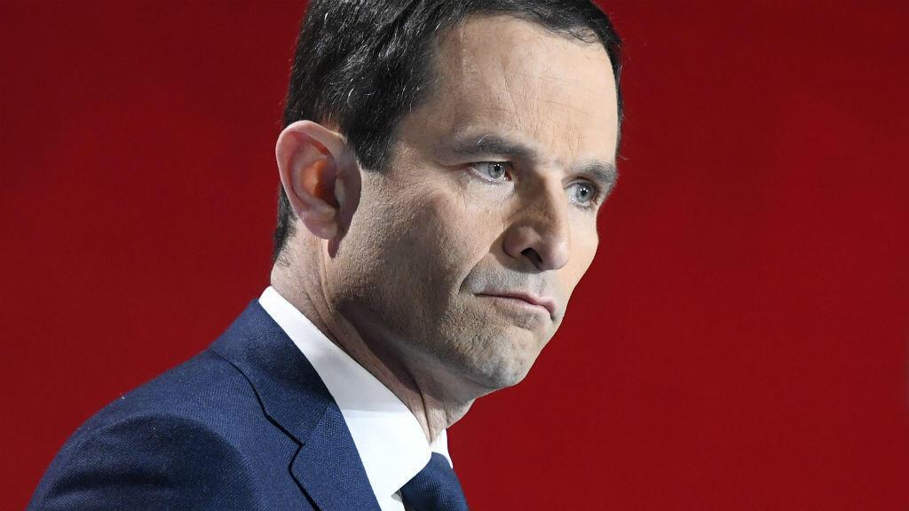 Benoît Hamon, lors du second débat de la primaire de la gauche le 15 janvier.