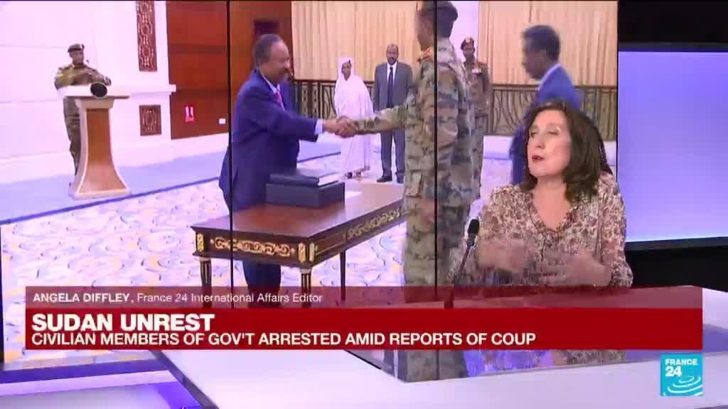 2021-10-25 11:04 UN chief condemns Sudan 'coup', calls for PM's immediate release
