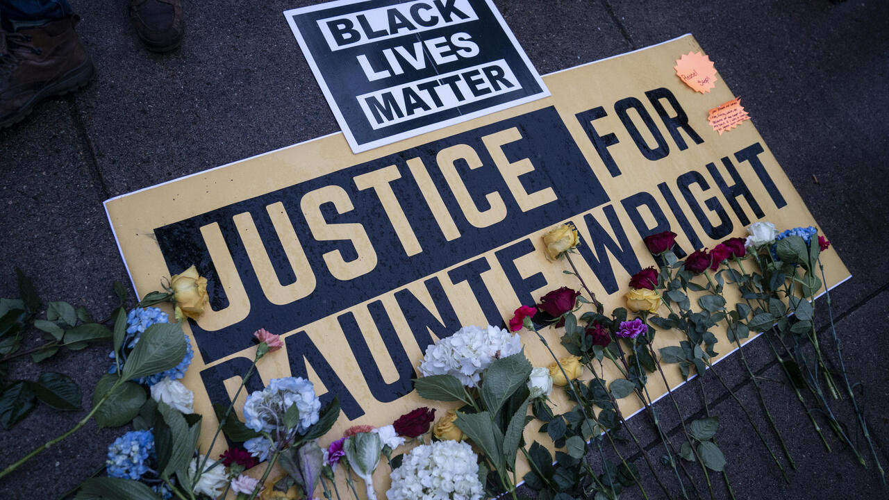 Officer who shot Black motorist Daunte Wright charged with manslaughter