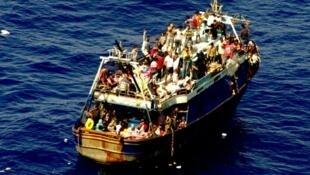 يشهد البحر المتوسط أغلب وفيات المهاجرين الذين يتدفقون نحو الشمال