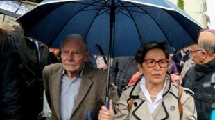 Vincent Lambert's parents, Pierre and Viviane, are both devout Catholics who have fought a long legal battle to keep him alive