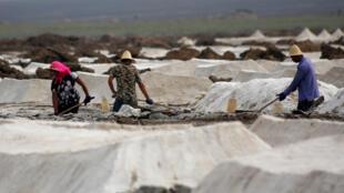 La Chine est le premier producteur mondial de sel;