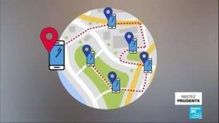 2020-05-26 13:03 Covid-19 : l'application de traçage StopCovid disponible dès ce week-end