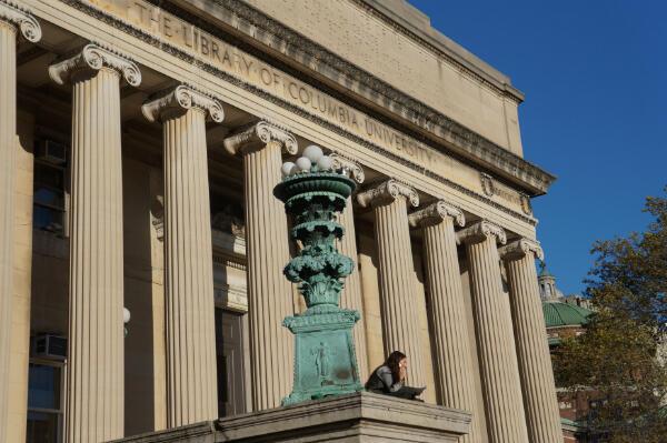 L'université de Columbia, dans le nord de Manhattan, à New York.