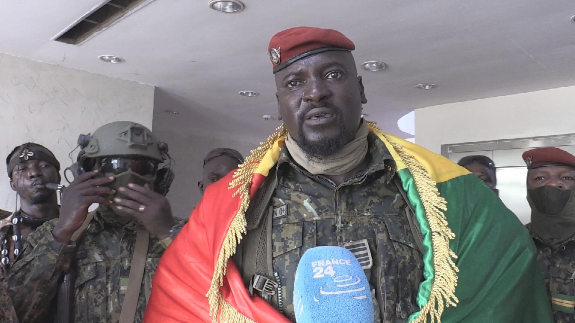 Interview du lieutenant-colonel Mamady Doumbouya