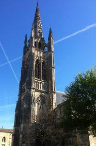 Saint John the Baptist church, in Libourne, France