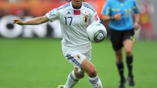 Yuki Nagasato was a World Cup winner in 2011