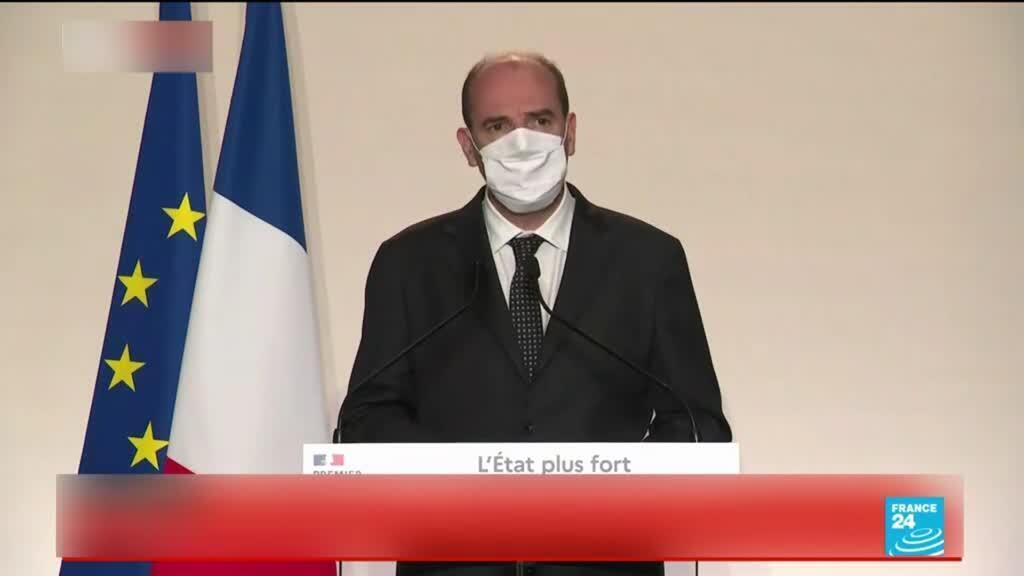 2020-09-25 13:06 Four injured in Paris machete attack near former offices of Charlie Hebdo