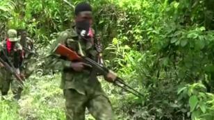 Imagen de archivo de un combatiente de la guerrilla del ELN en Colombia.