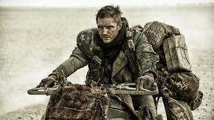 Tom Hardy, en Mad Max version 2015.