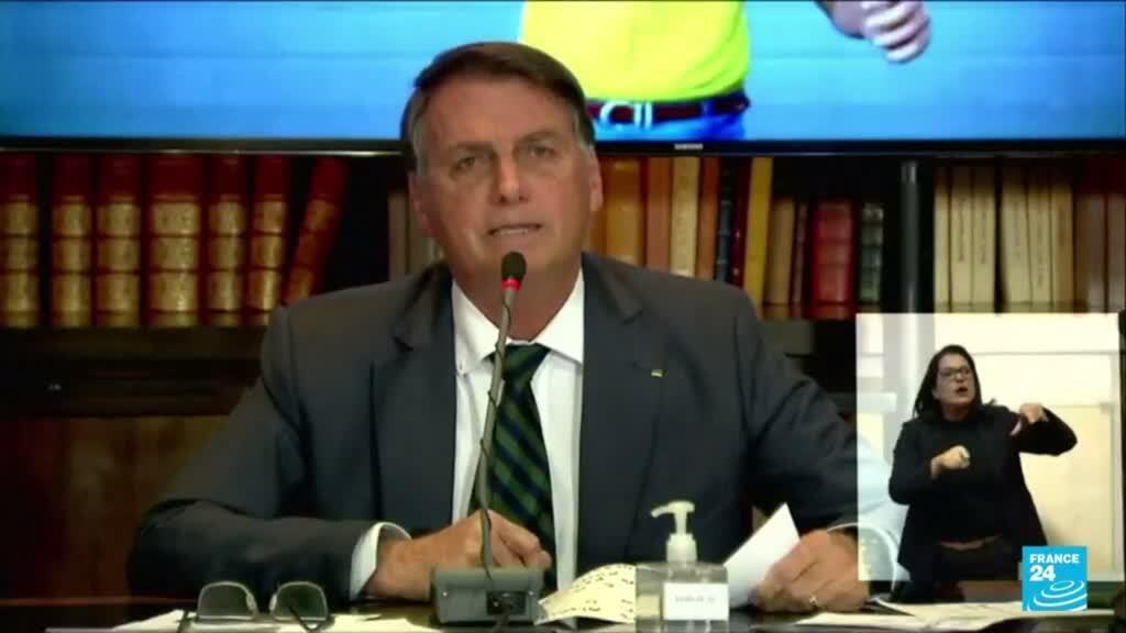 2021-08-05 19:06 Bolsonaro será investigado por difundir noticias falsas sobre elecciones en Brasil