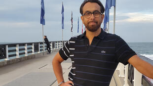 Le triathlète français David Bellet-Brissaud, le 12 avril, la veille de sa disparition à Port Elizabeth, en Afrique du Sud.