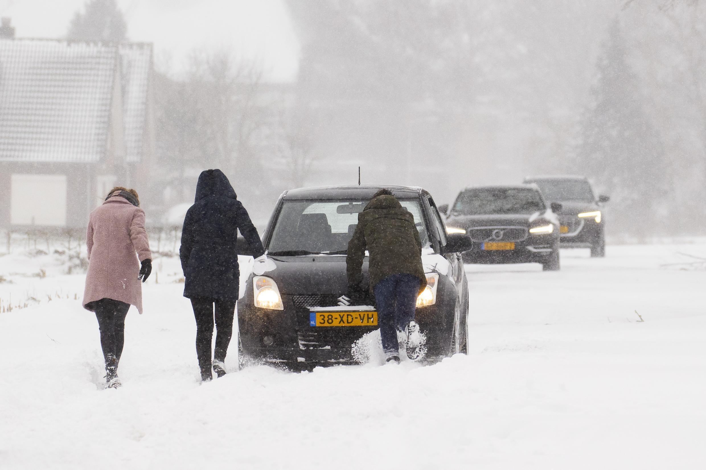 Snowstorm Netherlands