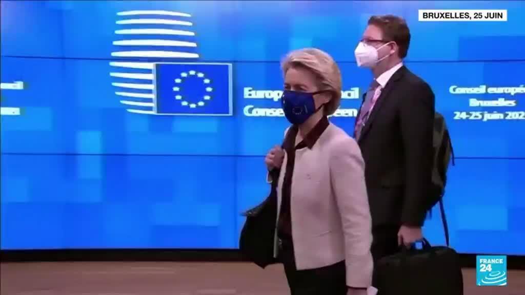 2021-06-25 06:06 L'Union européenne écarte la possibilité d'un sommet avec Vladimir Poutine
