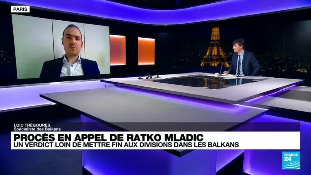 """2021-06-08 21:06 Procès en appel de Ratko Mladic: """"Les responsables politiques continuent la guerre par des narratifs révisionnistes"""""""