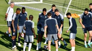 Les Bleus affrontent l'Argentine en huitièmes de finale de la Coupe du monde 2018.